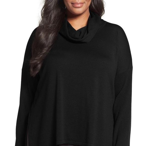 649caa4ae866a Eileen Fisher Sweaters - Eileen Fisher Cowl Ultrafine Merino Wool Sweater